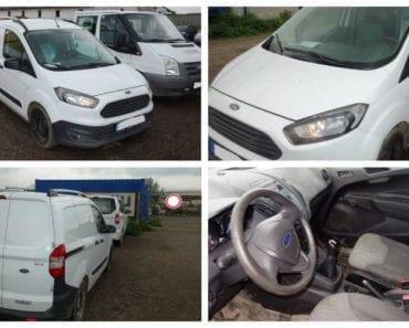 Do 5.9.2019 Dražba automobilu Ford Transity Courier 1.0 EcoBoost. Vyvolávací cena 77.440 Kč, ➡️ ID619092