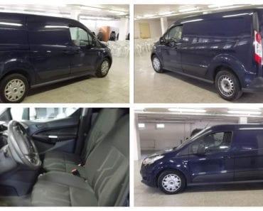24.9.2019 Dražba vozidla Ford Transit CONNECT. Vyvolávací cena 150.000 Kč, ➡️ ID620712