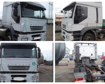 24.9.2019 Dražba nákladního automobilu Iveco Stralis Active Time. Vyvolávací cena 77.000 Kč, ➡️ ID628998