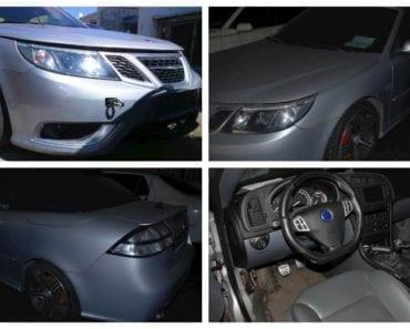 Do 29.8.2019 Aukce automobilu SAAB 9-3 AERO. Vyvolávací cena 24.400 Kč, ➡️ ID617999