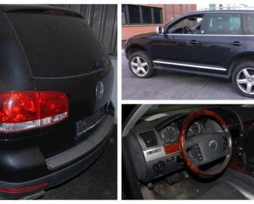 Do 29.8.2019 Aukce automobilu Volkswagen Touareg 7L. Vyvolávací cena 80.500 Kč, ➡️ ID617945
