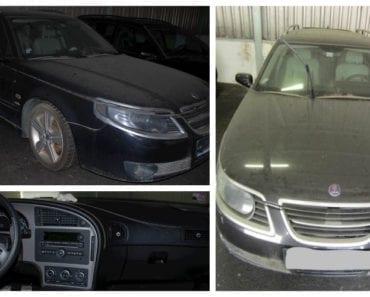 Do 29.8.2019 Aukce automobilu SAAB 9-5 YS3E. Vyvolávací cena 40.900 Kč, ➡️ ID618036