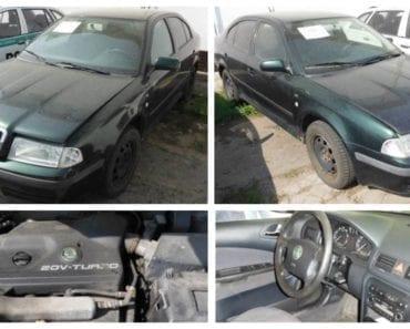 Do 5.9.2019 Výběrové řízení na prodej automobilu Škoda Octavia. Min. kupní cena 5.000 Kč, ➡️ ID618229