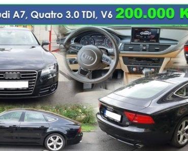 17.9.2019 Dražba automobilu Audi A7 Quatro 3.0 TDI. Vyvolávací cena 200.000 Kč, ➡️ ID619246