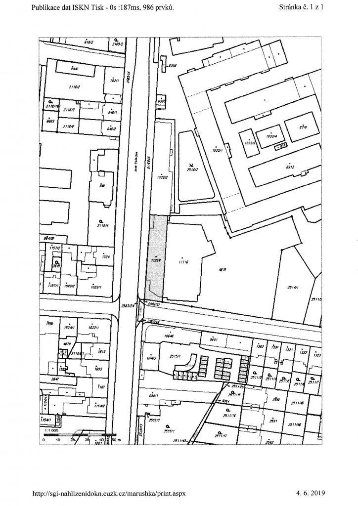 28.8.2019 Dražba nemovitosti (Stavební parcela). Vyvolávací cena 1.944.800 Kč, ➡️ ID621063