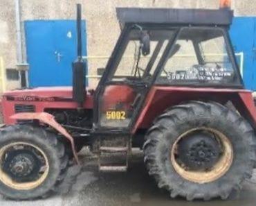 Do 29.8.2019 Výběrové řízení na prodej traktoru Zetor 7245. Min. kupní cena 84.579 Kč, ➡️ ID621189