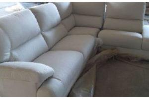 7.10.2019 Dražba nábytku (Sedačka, úložný bok, látka béžová). Vyvolávací cena 9.200 Kč, ➡️ ID645330