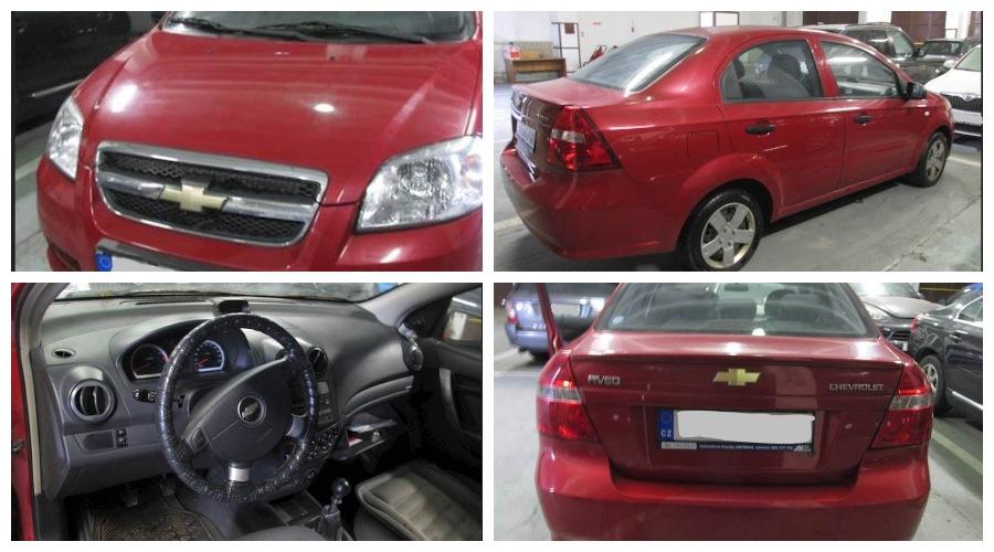 Do 1.10.2019 Aukce automobilu Chevrolet Aveo. Vyvolávací cena 25.000 Kč, ➡️ ID641139