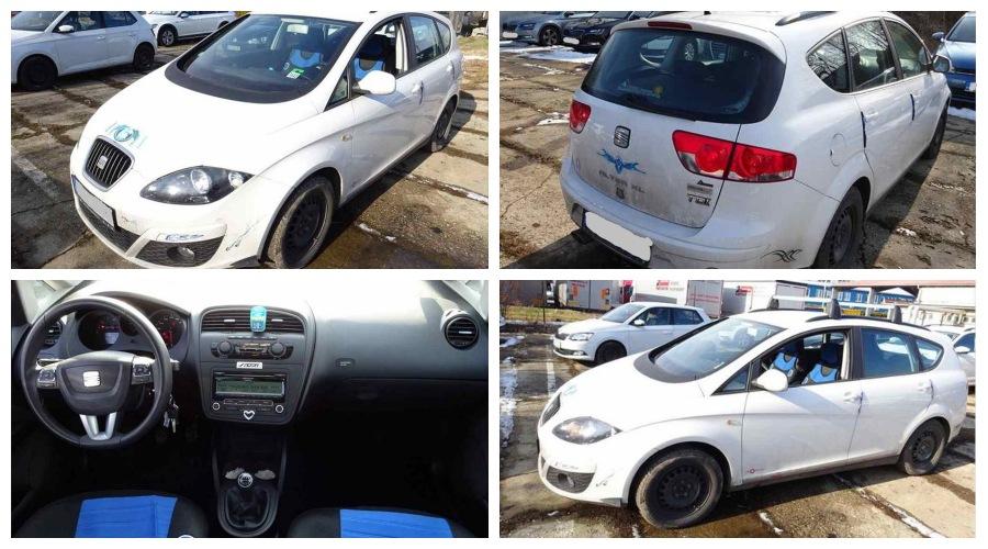 5.10.2019 Dražba automobilu Seat Altea XL 1.6 TDI. Vyvolávací cena 140.000 Kč, ➡️ ID645733