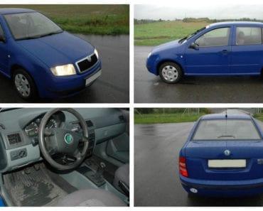 Do 5.10.2019 Aukce automobilu Škoda Fabia 1.4. Vyvolávací cena 29.000 Kč, ➡️ ID640289