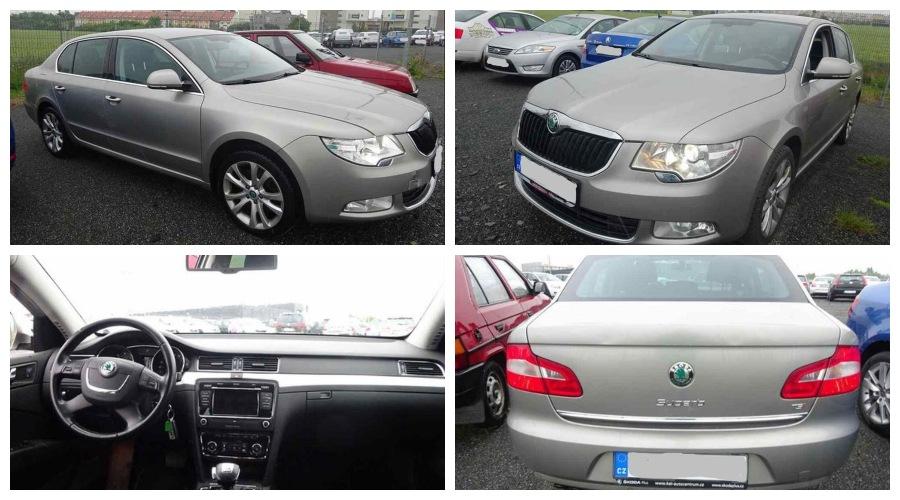 5.10.2019 Dražba automobilu Škoda Superb 1.8 TSI. Vyvolávací cena 161.000 Kč, ➡️ ID645748