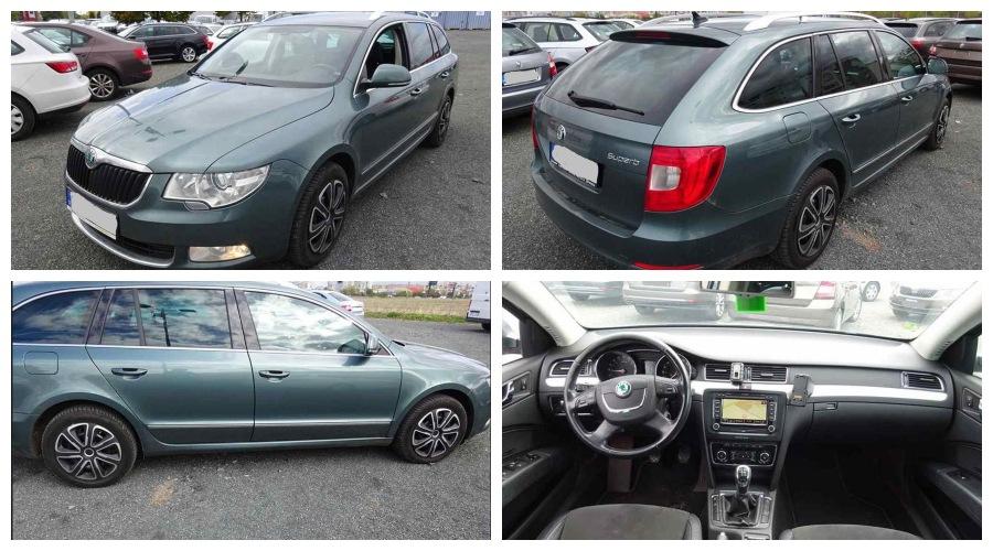 5.10.2019 Dražba automobilu Škoda Superb 2.0 TDI 4X4. Vyvolávací cena 186.000 Kč, ➡️ ID645759