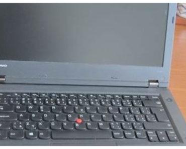 Do 14.10.2019 Aukce počítače (Notebook Lenovo L440 + batoh na PC). Vyvolávací cena 800 Kč, ➡️ ID643870