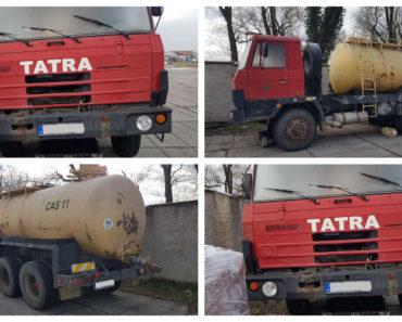 Do 19.10.2019 Výběrové řízení na prodej nákladního automobilu Tatra 815. Min. kupní cena 65.000 Kč, ➡️ ID645358