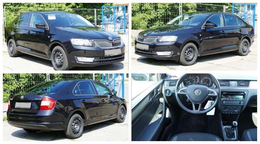 Do 29.9.2019 Aukce automobilu Škoda Rapid. Vyvolávací cena 183.000 Kč, ➡️ ID644921