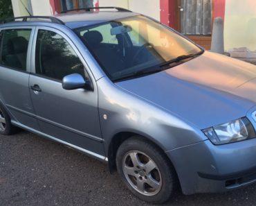 17.10.2019 Dražba automobilu Škoda Fabia Combi 1.4i. Vyvolávací cena 8.000 Kč, ➡️ ID643944
