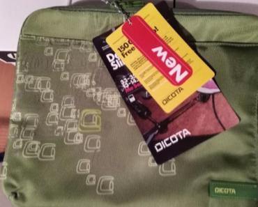 3.10.2019 Dražba tašek na notebook Dicota SlimCase - 10 kusů. Vyvolávací cena 850 Kč.