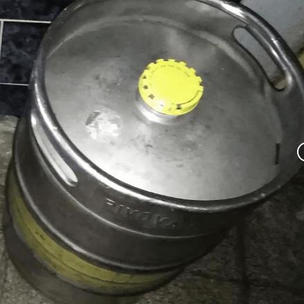 2.10.2019 Dražba sudu s pivem Braník 50 litrů. Vyvolávací cena 1.640 Kč.