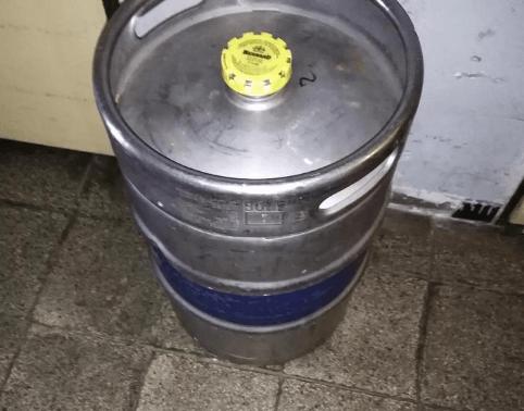 2.10.2019 Dražba sudu s pivem Braník 11 - 50 litrů. Vyvolávací cena 1.910 Kč.