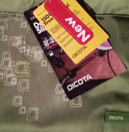 3.10.2019 Dražba tašky na notebook Dicota SlimCase - 160 kusů. Vyvolávací cena 13.350 Kč.