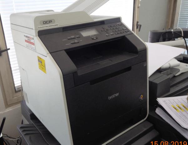 10.10.2019 Dražba tiskárny Brother. Vyvolávací cena 3.630 Kč.