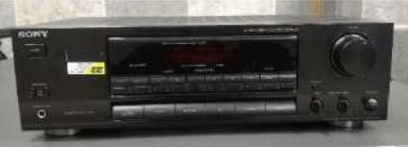 Do 30.9.2019 Výběrové řízení na prodej radiopřijímače Sony. Minimální kupní cena 960 Kč