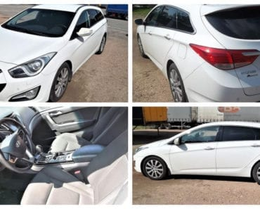 2.10.2019 Dražba automobilu Hyundai I40 VF, kombi. Vyvolávací cena 60.000 Kč, ➡️ ID639106