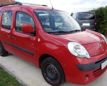 17.10.2019 Dražba automobilu Renault Kangoo W. Vyvolávací cena 25.000 Kč, ➡️ ID640087