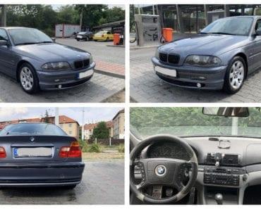 14.10.2019 Dražba automobilu BMW 316i. Vyvolávací cena 10.000 Kč, ➡️ ID640460