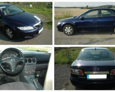 Do 2.10.2019 Aukce automobilu Mazda 6 2.0. Vyvolávací cena 28.000 Kč, ➡️ ID632046