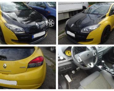23.10.2019 Dražba automobilu Renault Megane RS. Vyvolávací cena 90.000 Kč, ➡️ ID644966