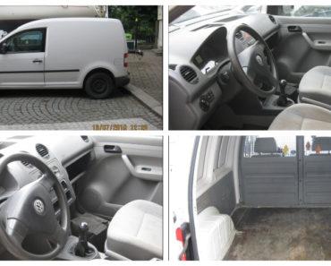 23.10.2019 Dražba automobilu VW Caddy. Vyvolávací cena 10.000 Kč, ➡️ ID646166