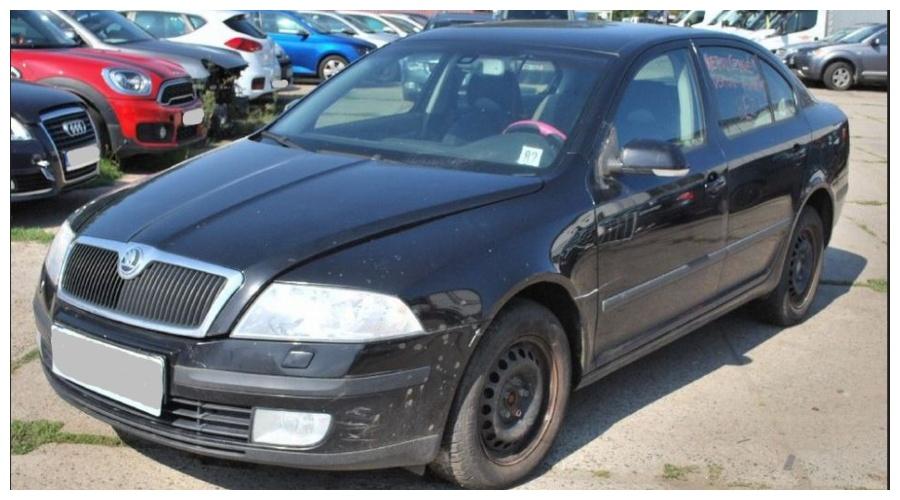 7.9.2019 Dražba automobilu Škoda Octavia combi. Vyvolávací cena20.000 Kč.