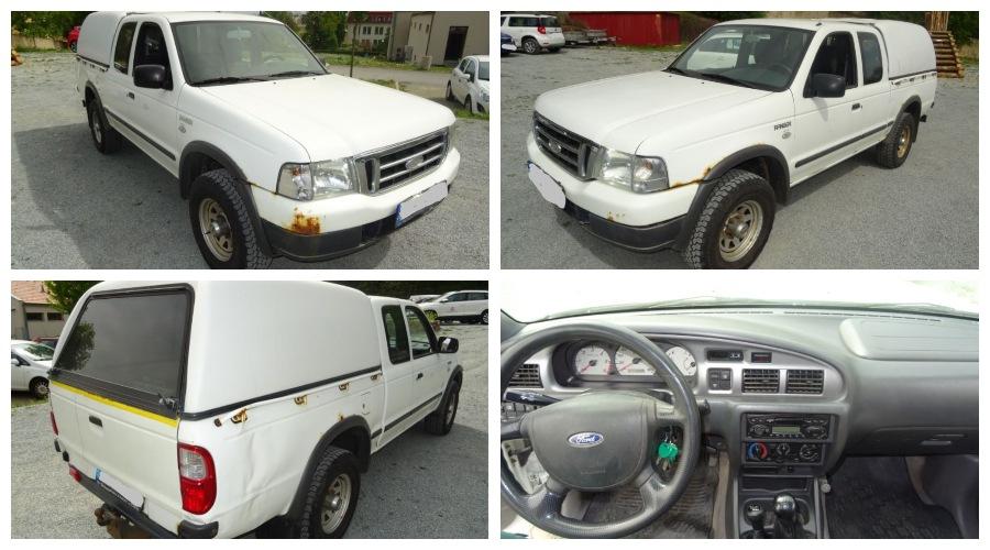 Do 18.10.2019 Výběrové řízení na prodej automobilu Ford Ranger Pick-Up 2.5 4x4. Min. kupní cena 69.000 Kč, ➡️ ID645536