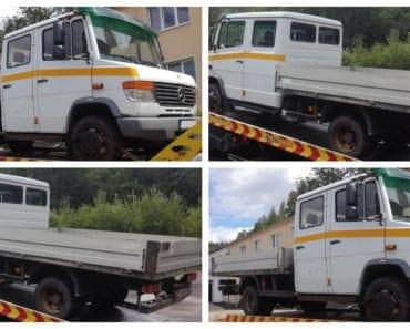 25.9.2019 Dražba nákladního automobilu Mercedes-Benz Vario 814 D. Vyvolávací cena 90.000 Kč, ➡️ ID633966