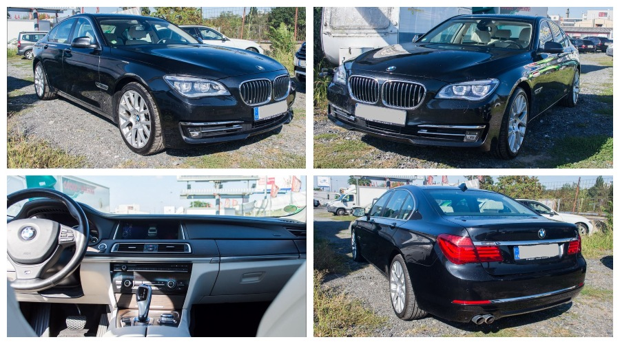 24.10.2019 Dražba automobilu BMW 730 D. Vyvolávací cena 503.000 Kč, ➡️ ID645662
