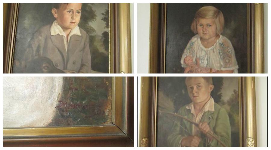 Do 11.10.2019 Aukce umění (Soubor portrétů). Vyvolávací cena 2.700 Kč, ➡️ ID644829