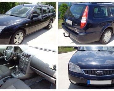 Zisková Dražba automobilu Ford Mondeo - vydraženo jen za 8.000 Kč