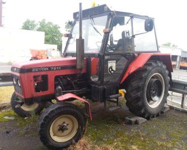 25.9.2019 Dražba traktoru Zetor. Vyvolávací cena 13.000 Kč, ➡️ ID643507