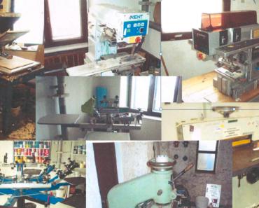 Do 20.10.2019 Výběrové řízení na prodej ostatních movitých věcí (Vybavení tiskařské dílny). Min. kupní cena 446.589 Kč, ➡️ ID645495