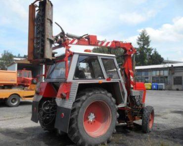 25.9.2019 Dražba traktoru Zetor - sekačka. Vyvolávací cena 53.000 Kč, ➡️ ID643514