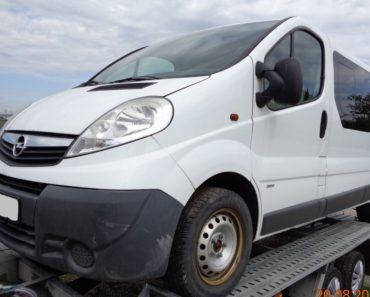 28.11.2019 Dražba automobilu Opel Vivaro Van. Vyvolávací cena 24.200 Kč, ➡️ ID655139