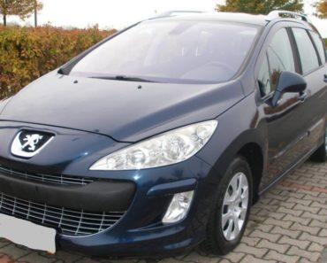 6.11.2019 Aukce automobilu Peugeot 308 SW,1.6 HDI. Vyvolávací cena 20.000 Kč, ➡️ ID656167