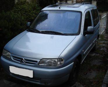 26.11.2019 Dražba automobilu Citroën Berlingo 2.0 HDI kombi. Vyvolávací cena 4.000 Kč, ➡️ ID656406