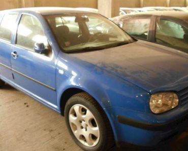 Do 24.10.2019 Aukce automobilu Volkswagen Golf 1,4/55 kW. Vyvolávací cena 15.000 Kč, ➡️ ID652583