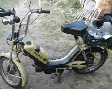 30.10.2019 Dražba motocyklu Babetta TLV 210. Vyvolávací cena 3.000 Kč, ➡️ ID652740