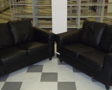 6.11.2019 Dražba koženkové sedačky. Vyvolávací cena 750 Kč.