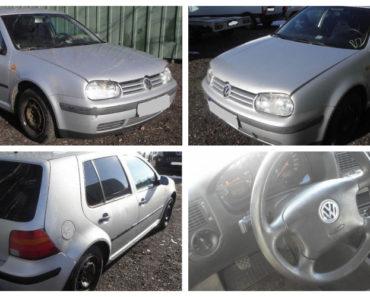13.4.2019 Dražba automobilu VW GOLF. Vyvolávací cena 16.000 Kč, ➡️ ID652085