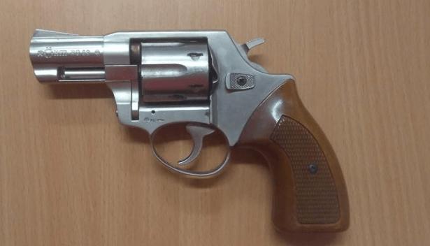 31.10.2019 Dražba plynové pistole. Vyvolávací cena 600 Kč.