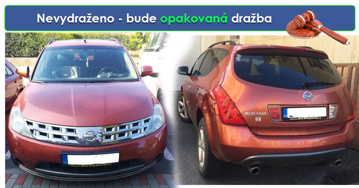 Zisková Dražba Nissan Murano - vůbec NEVYDRAŽENO 🔥🔥🔥